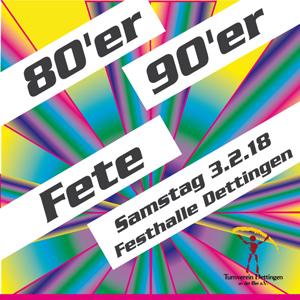 80er/90er-FETE