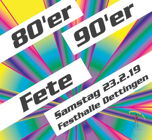 80er/90er Fete