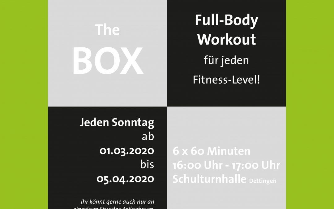 Neues Kursangebot: THE BOX