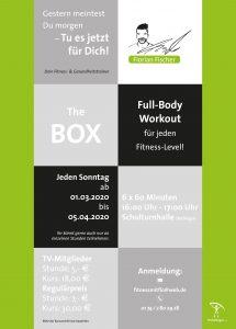 """Neues Kursangebot """"The Box"""""""