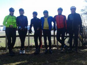 Winterradtreff MTB @ Erolzheim, Kreisverkehr